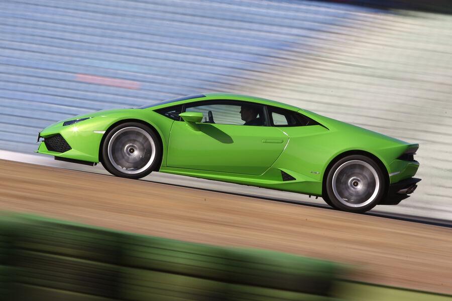 Lamborghini Hurac N Lp 610 4 Im Fahrbericht Auf Hatz Mit Dem 610 Ps
