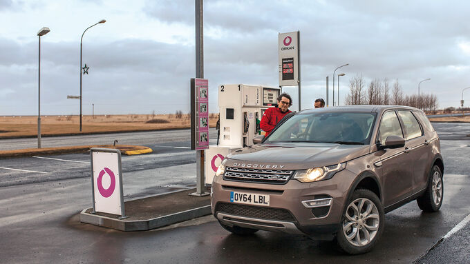 Land Rover Discovery Sport, Frontansicht