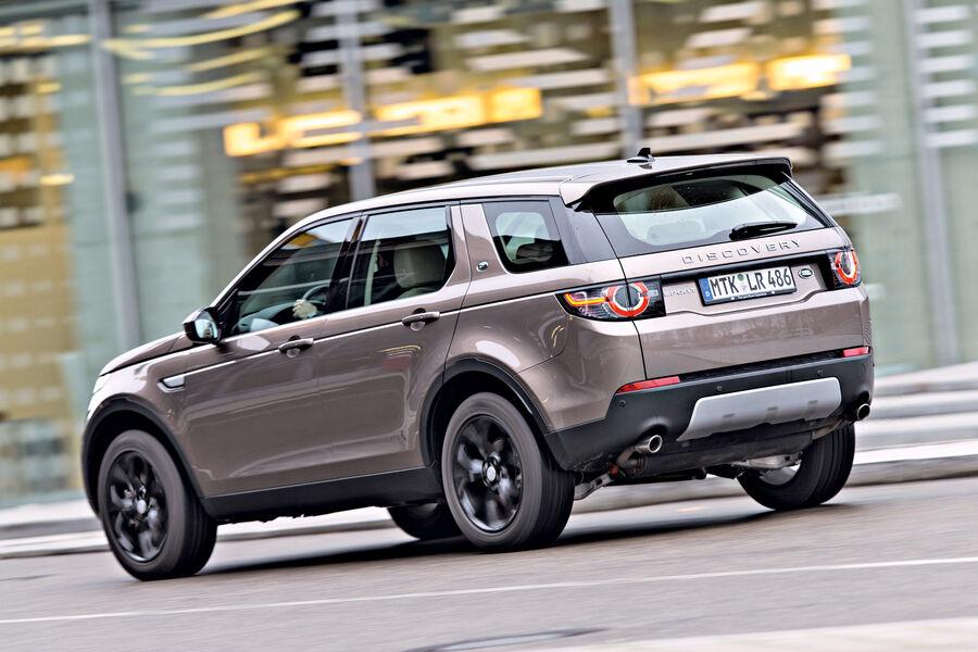 land rover discovery sport im test komfortabler offroader auto motor und sport. Black Bedroom Furniture Sets. Home Design Ideas
