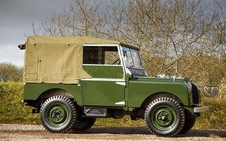 Land Rover Series I Reborn Oldtimer-Restaurierung