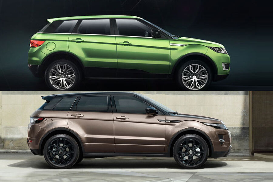 Landwind X7 The Fake Range Rover Evoque From China | Share The Knownledge