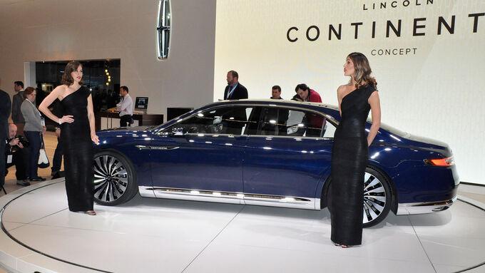 lincoln continental auf der new york auto show luxusliner f r 2016 voraus. Black Bedroom Furniture Sets. Home Design Ideas