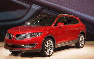 Lincoln MKX Detroit 2015