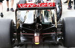 Lotus Auspuff - Formel 1 2014