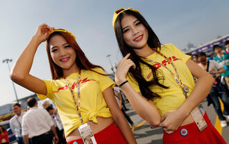 Macao Grid Girls