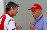 Marco Mattiacci  Niki Lauda - GP Brasilien 2014
