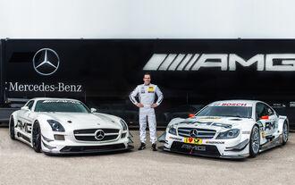 Mercedes DTM-Kader 2015