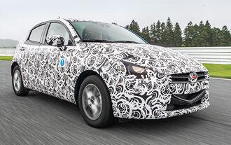 Mazda 2, Frontansicht