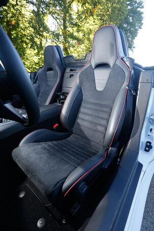 Mazda MX-5 Skyactiv-G 160, Fahrersitz