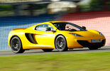 McLaren 12C Spider, Frontansicht