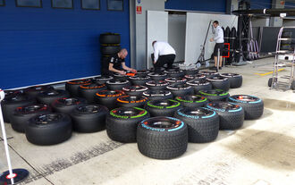 Fotos F1-Test in Jerez 2015 (Samstag)