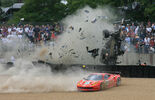McNish Crash Le Mans 2011