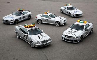 Mercedes-AMG Safety Cars, Generationen, Impression