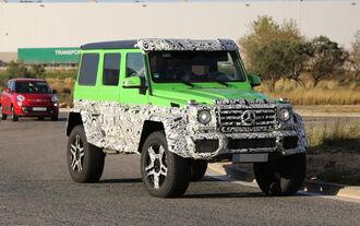 Mercedes Benz G63 AMG 4x4 Green Monster