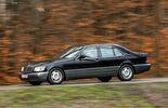 Mercedes-Benz S600, Seitenansicht