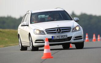 Mercedes C 250 T-Modell, Frontansicht