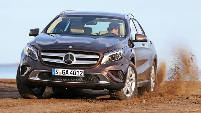 Mercedes Gla  Sport Utility Innenraum