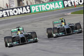 Mercedes GP Malaysia 2013