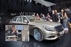 Sitzprobe Mercedes-Maybach Pullman in Genf