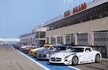 Mercedes SLS AMG GT3, Teams, Boxengasse