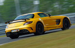 Mercedes SLS Black Series, Heckansicht