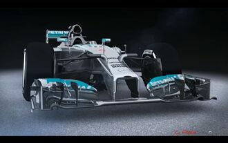 Mercedes hält Update-Tempo hoch