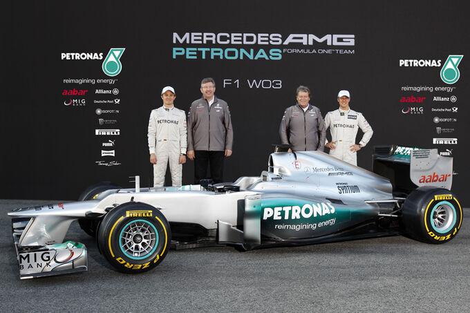 Mercedes W03 2012 Barcelona