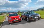 Mini Cooper S Clubman, VW Golf GTI, Frontansicht