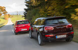 Mini Cooper S Clubman, VW Golf GTI, Heckansicht