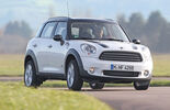 Mini Countryman Cooper D All4, Frontansicht