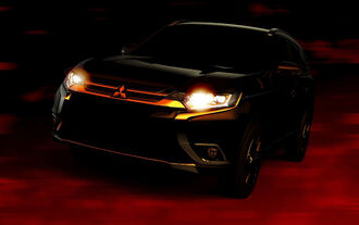 Mitsubishi Outlander Teaser New York 2015