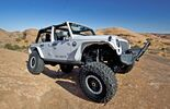 Moab Easter Jeep Safari: Trailhawk, Mopar Recon, Flattop, Sand Trooper, Stitch und Flattop