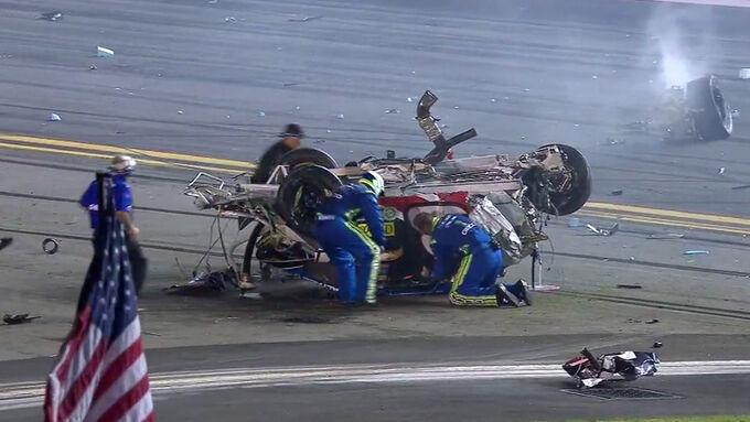 NASCAR-Crashs