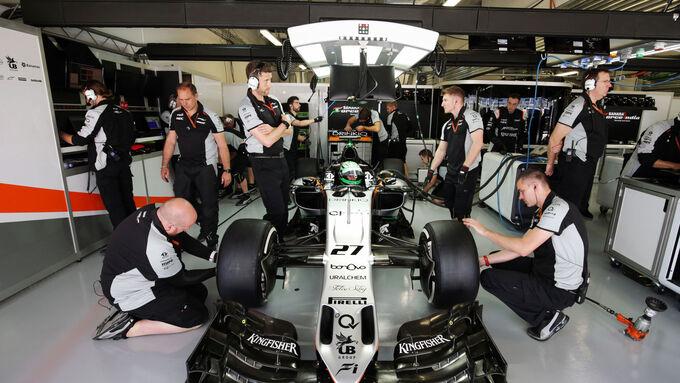 Nico Hülkenberg - Force India - Formel 1 - GP Russland - 29. April 2016