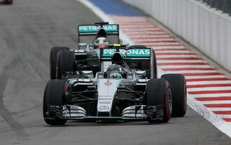 Fahrer-Noten GP Russland 2015
