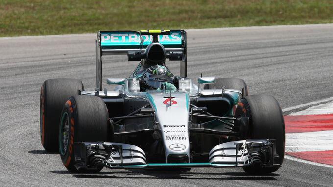 Nico Rosberg - Mercedes - Formel 1 - GP Malaysia - 28. März 2015