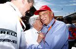 Niki Lauda - Bernie Ecclestone - GP Spanien 2015 - Rennen - Sonntag - 10.5.2015