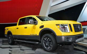 Nissan Titan XD auf der NAIAS Detroit 2015