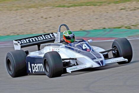 Oldtimer-GP, Brabham BT49 C, Formel 1