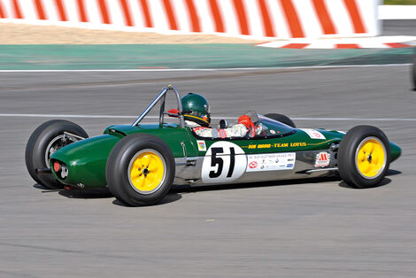 Oldtimer-GP, Formel Junior, Lotus 27
