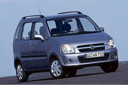 Opel Agila. Opel Agila