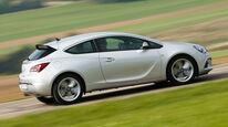 Opel Astra GTC Biturbo CDTI, Seitenansicht