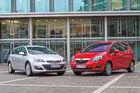 Opel Astra Sports Tourer, Opel Meriva, Frontansicht