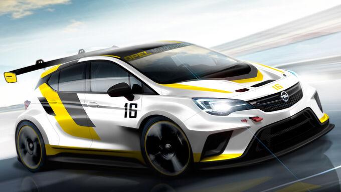Opel Astra TCR - Zeichnung - 2015