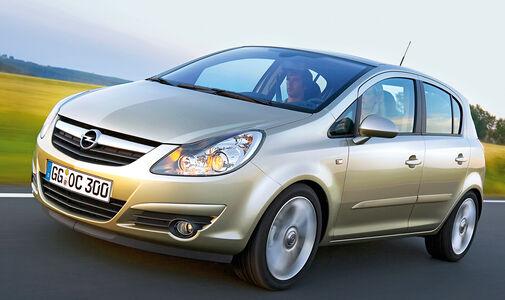 Opel Corsa 1.0, Frontansicht