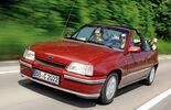 Opel Kadett E Cabrio, Frontansicht