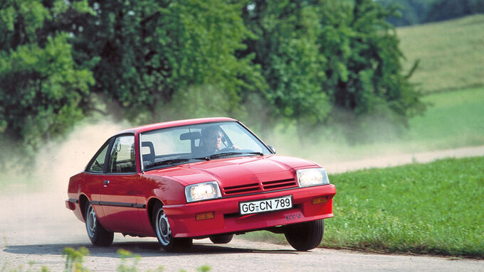 Opel Manta B, Kurvenfahrt