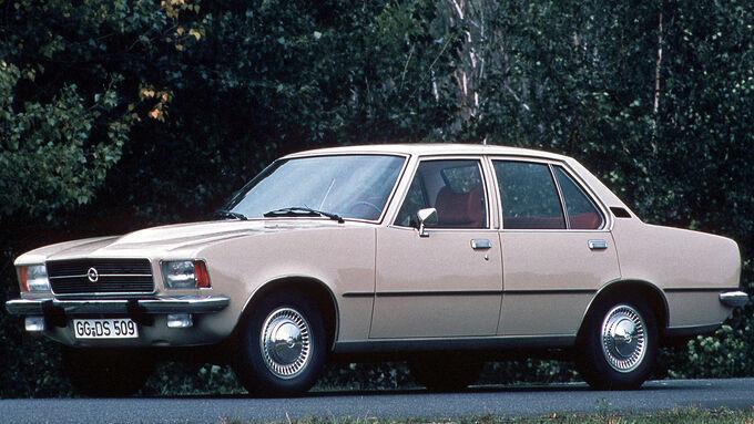 Opel Rekord, Frontansicht