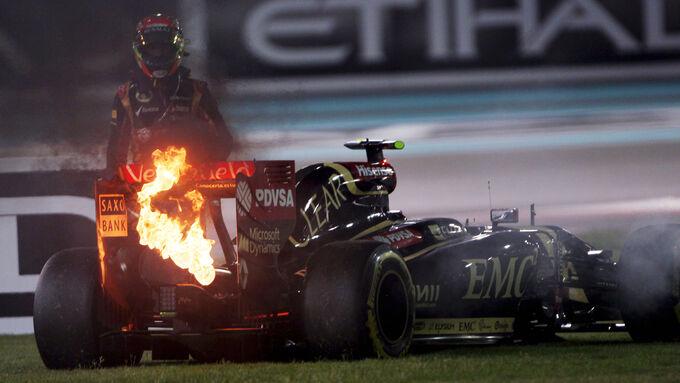 Fotos GP Abu Dhabi (Rennen)