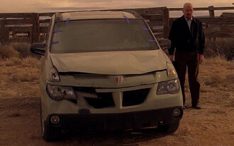 Pontiac Aztek, Breaking Bad, Walter White
